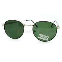 Petite Round Sunglasses Thin Metal Frame Vintage Fashion - $7.15