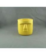 Moai Head Tiki Tumbler or Mug - Vibrant Yellow - By Whaler's Rhum - $39.00