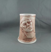 Vintage Christian Mission Bar Mug-Featuring Naiguata (Venezuela)-Hand Painted - $69.00