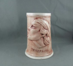 Vintage Christian Mission Bar Mug-Featuring Terepaima (Venezuela)-Hand Painted - $69.00