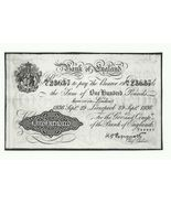 BANK OF ENGLAND ONE HUNDRED (100) POUNDS 1936 REPLICA BANKNOTE - €2,63 EUR