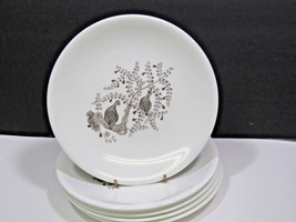 "Set of 6 Wedgwood PARTRIDGE IN A PEAR TREE Lunch Salad Dessert Plates 8"" - $64.35"