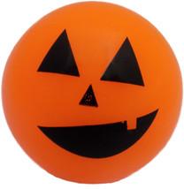 Handee Products Halloween Red Blue Purple & Orange Flashing Rubber Ball ... - $1.99