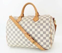 Auth LOUIS VUITTON Speedy Bandouliere 30 Daminer Azur Boston Hand Bag #32776 - $1,250.00