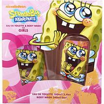 Spongebob Squarepants By Nickelodeon Edt Spray 3.4 Oz & Body Wash 8 Oz - $21.00