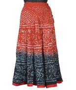 Long Skirt Indian Handmade Tie & Dye Bandhej & ... - $22.80