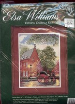 Evening Carriage Ride Elsa Williams Needlepoint Kit #06410 NEW 30 Days t... - $34.17