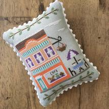 Cafe #7 Main Street Station cross stitch chart Country Cottage Needlework - $5.40
