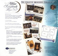 The Creative Memories Collection 12 x 12 12x12 White Scrapbook Pages 15-... - $49.99