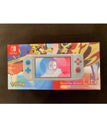 New Nintendo Switch Lite Zacian and Zamazenta Edition Pokémon Sword Shield - $308.69