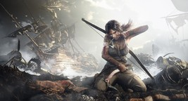 "Rise of the Tomb Raider Lara Croft 18""x28"" (45c... - $22.00"