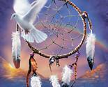 Dove dream catcher cross stitch pattern thumb155 crop