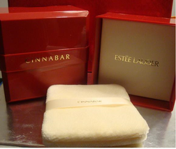 Rare CINNABAR DUSTING POWDER 3 OZ. Estee Lauder Bath Body Perfume Fragra... - $199.99