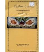 Rufus Porter Hens Long M Shaw Hooked on Rugs Punchneedle Pattern w/Fabri... - $9.87