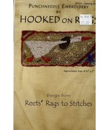 Running Goose Reets Rags to Stitches Hooked on Rugs Punchneedle Pattern ... - $8.07