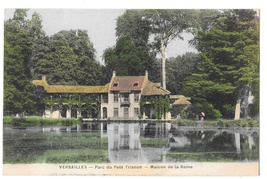 Versailles Parc du Petit Trianon Maison de la Reine Vintage Postcard Mme... - $4.99