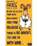 Humorous Aries Zodiac Magnet #2 - $7.99