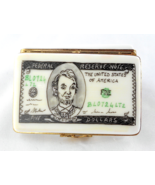 Limoges Box - US Five Dollar Bill Money Currenc... - $85.00