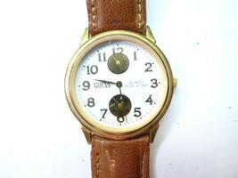 Guess Dual Time Multidial Vintage 1990 Quartz Watch Runs New Battery - $134.49