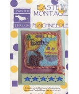 Easter Montage Twisted Threads Punchneedle Embroidery Pattern w/Fabric NEW - $8.07