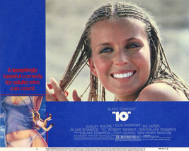 "Bo Derek Movie Poster 11x14 inches ""10"" 10 Dudley Moore Blake Edwards RARE  - $19.99"