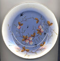 Japanese Antique 19th Or Early 20th Century Hand Painted Floral Porcelai... - $25.00