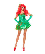 Sexy Starline Green Poison Ivy Seductress Dress 3pc Costume #S5154 - $59.99