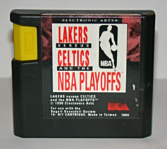 SEGA GENESIS - LAKERS VERSUS CELTICS and the NBA PLAYOFFS (Game Only) - $5.00