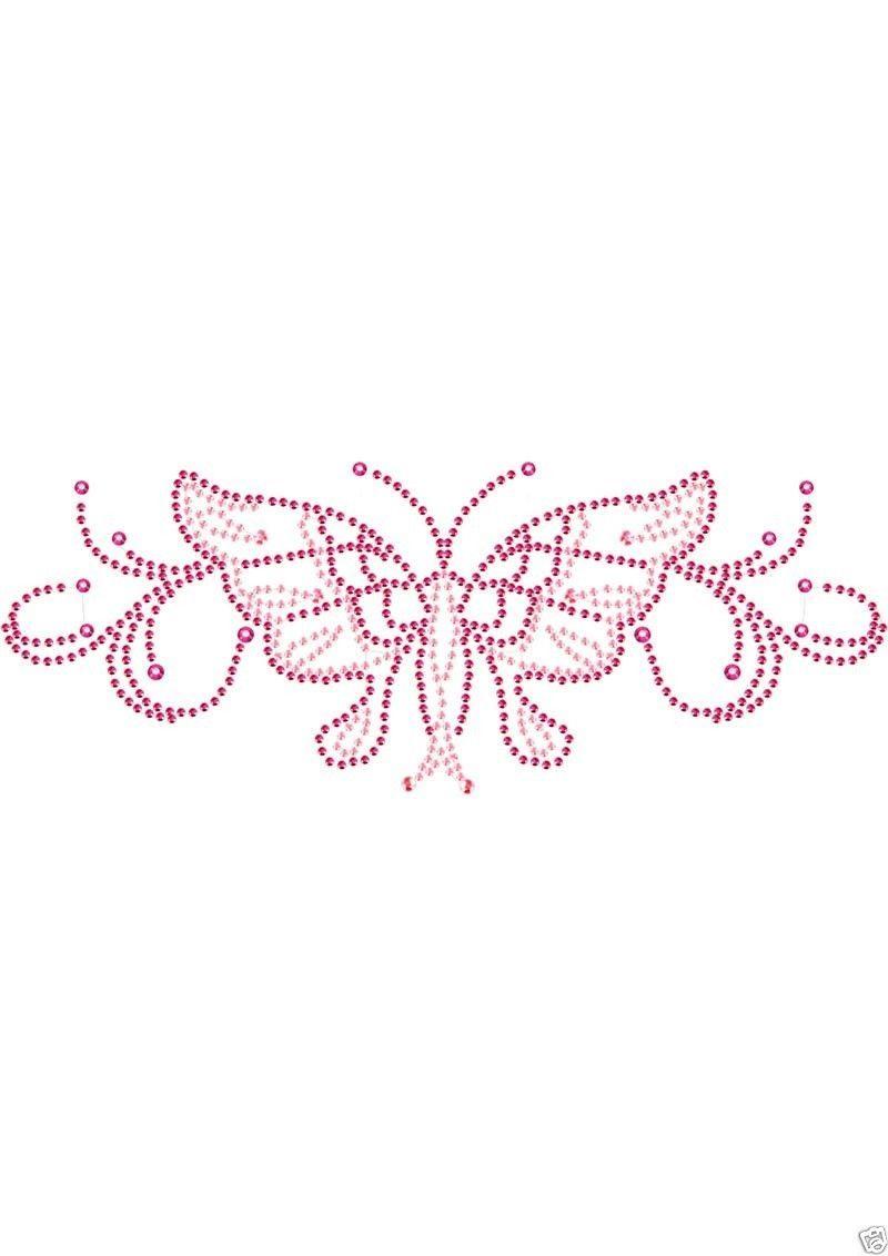 Peekaboo intimate body crystals rhinestone tattoo pink for Rhinestone body tattoos
