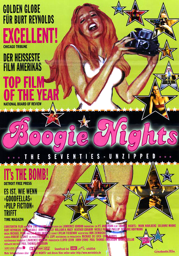 Boogie nights movie poster 11x17