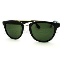 Retro Fashion Sunglasses Womens Flat Top Round Eyewear - $6.95