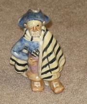 Antique Ceramic Sailor Pirate OOAK - $99.95