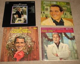 4 Vintage Perry Como Vinyl LP Albums - $32.00