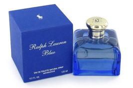 Ralph Lauren BLUE EDT SPRAY 4.2 oz. EAU DE TOILETTE Perfume RL Fragrance... - $99.99