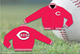 Cincinnati Reds Adult Wool Reversible Jacket - $109.95