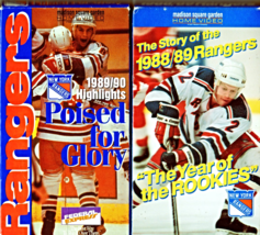 New York Rangers   - VHS Tapes 4 Tapes - $7.00