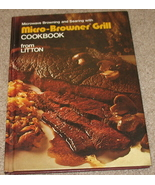 Micro-Browner Grill Cookbook - Litton - 1978 - $7.25