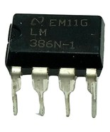 10 x Texas Instruments LM386N-1  Free Shipping - New and Authentic - USA... - $6.91