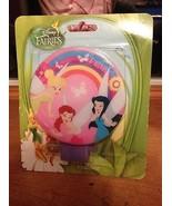 Disney Fairies Tinkerbell & Friends Night Light Nightlight Brand New Sealed - $8.99