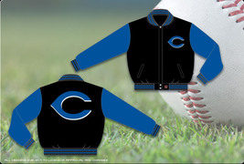 JH Design Cincinnati Reds Adult Wool Reversible Jacket - $109.95