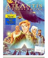 DVD - Atlantis The Lost Empire - Walt Disney  DVD - $10.00