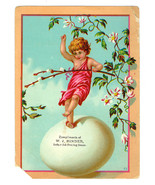 Victorian Trade Advert Card Chromolithograph W ... - $10.88