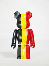 Medicom Toy Be@Rbrick Bearbrick 100% Series 27 Country Flag Belgium - $17.99