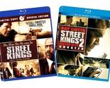 STREET KING 1-2: Motor City- Keanu Reeves-Ray Liotta- NEW 2 BLU RAY