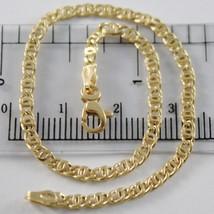 Bracelet en or Jaune 750 18K, Oeil de Tigre, Perdrix 2.5 mm, Long 19 CM - $251.70