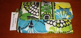 Vera Bradley Lime's Up Small Kisslock Wallet - $27.99