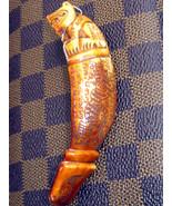 KEWKHIK LP SAWAI BUDDHA HINDU TIGER-CANINE-TOOTH-FANG-TEETH, NOT-REAL-TI... - $19.99
