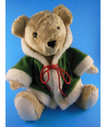 """Bon Marche Macy's Soft & Cuddly Teddy Bear 10"""" Sitting RARE! - $14.58"""
