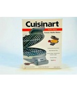 Cuisinart WMR CA Round Classic Waffle Maker with 5 Setting Browning Control NIB - $29.69
