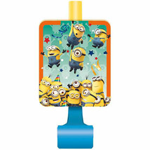 Minion's 8 ct Blowouts Birthday Party Minion Despicable Me - $3.99